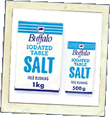 Buffalo Iodated Table Salt