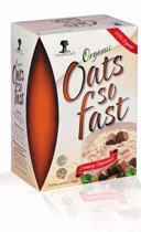 Organic Oats So - Fast, Luxury Chocolate