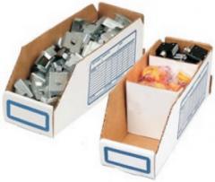 Corrugated Storage Bins