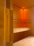 Custom Sauna (In doors)