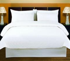 Hotel Duvet Cover Set (Standard White Percale)