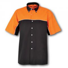 Pit Crew - Black/Orange