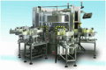 Opera pressure sensitive labelling machine