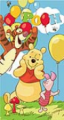 Winnie The Pooh Party Beach Towel