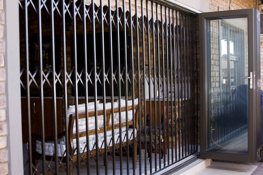 Order Trellis security door, expandable.